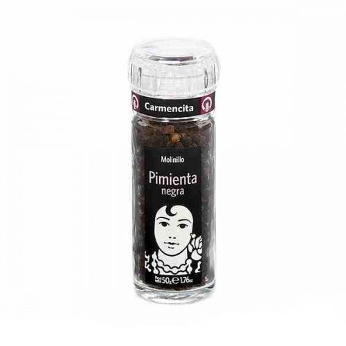 Carmencita Black Pepper Grinder (50 grams)