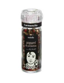 Carmencita Mixed Peppercorns Grinder (40 grams)