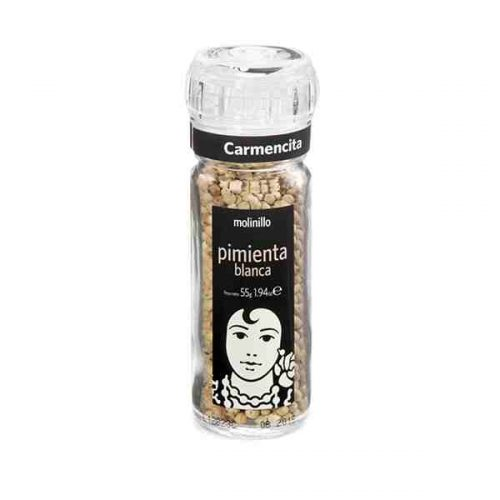 Carmencita White Pepper Grinder (50 grams)