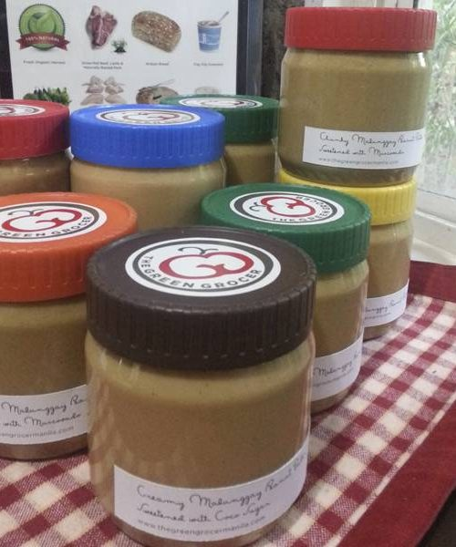 Chunky Peanut Butter with Moringa - Coco Sugar (500 grams)