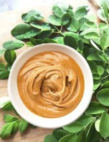 Creamy Peanut Butter with Moringa - Coco Sugar (340 grams)