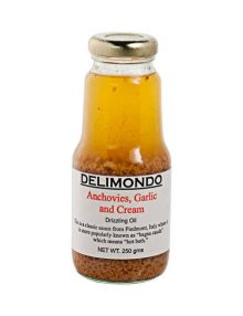 Delimondo Anchovies, Garlic & Cream (250 grams)