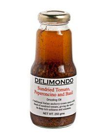 Delimondo Sundried Tomato, Peperoncino & Basil (250 grams)