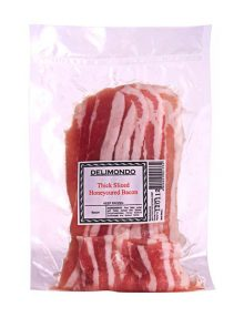Delimondo Thick Sliced Honeycured Bacon (250 grams)