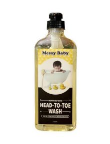 Messy Baby Head to Toe Wash (500 ml)
