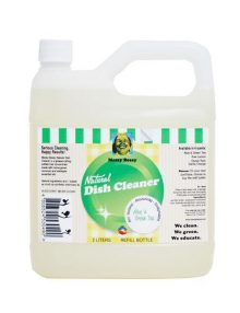 Messy Bessy Aloe & Green Tea Natural Dish Cleaner, Refill (2 liter)