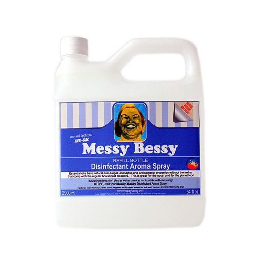 Messy Bessy Disinfectant Aroma Spray, Refill (2 liter)