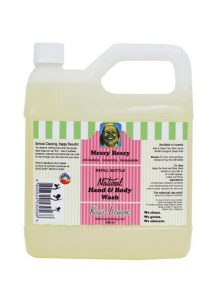 Messy Bessy Kiwi Lemon Hand & Body Wash, Refill (2 liter)