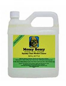Messy Bessy Squeaky Clean Glass Cleaner, Refill (2 liter)