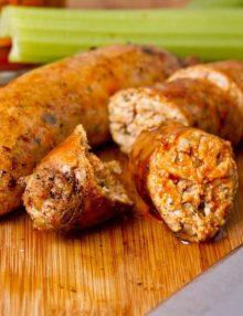 Organic Buffalo & Celery Sausage