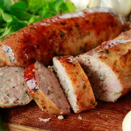 Organic Mint & Tarragon Sausage