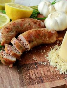 Organic Parmesan & Parsley Sausage