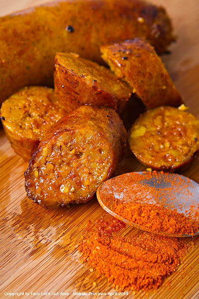 Organic Pio's Saffron Sausage