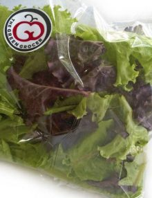 Organic Trimmed Salad Pack
