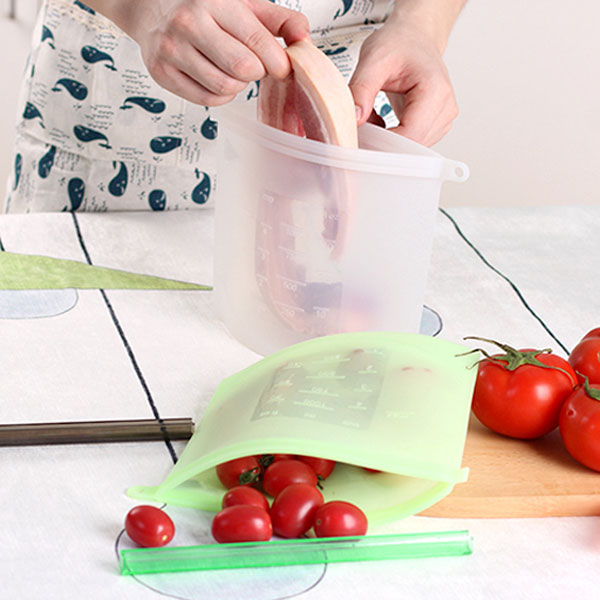 Reusable Silicone Food Storage Bag The Green Grocer Manila